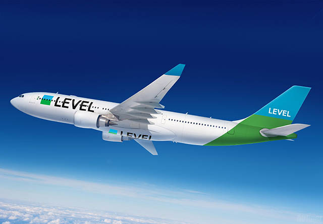 Vol avec Level